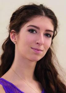 Anna Geladze vom Staatlichen Russischen Ballett Moskau