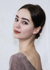 Ekaterina Gordukevich Tänzerin beim Staatlichen Russischen Ballett Moskau