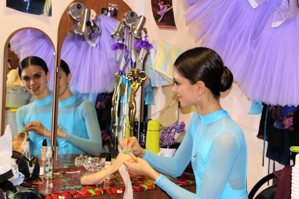 Anna Shcherbakova vom Staatllichen Russischen Ballett in Moskau
