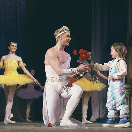 Gordejew und Jana Kasanzewa im Ballett La Giaconda