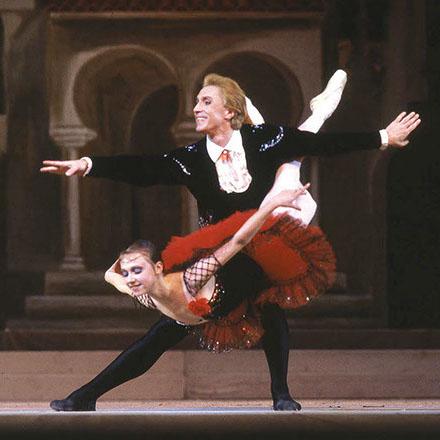 Wjatscheslaw Gordejew mit Elena Knyazkova im Ballett Don Quixote