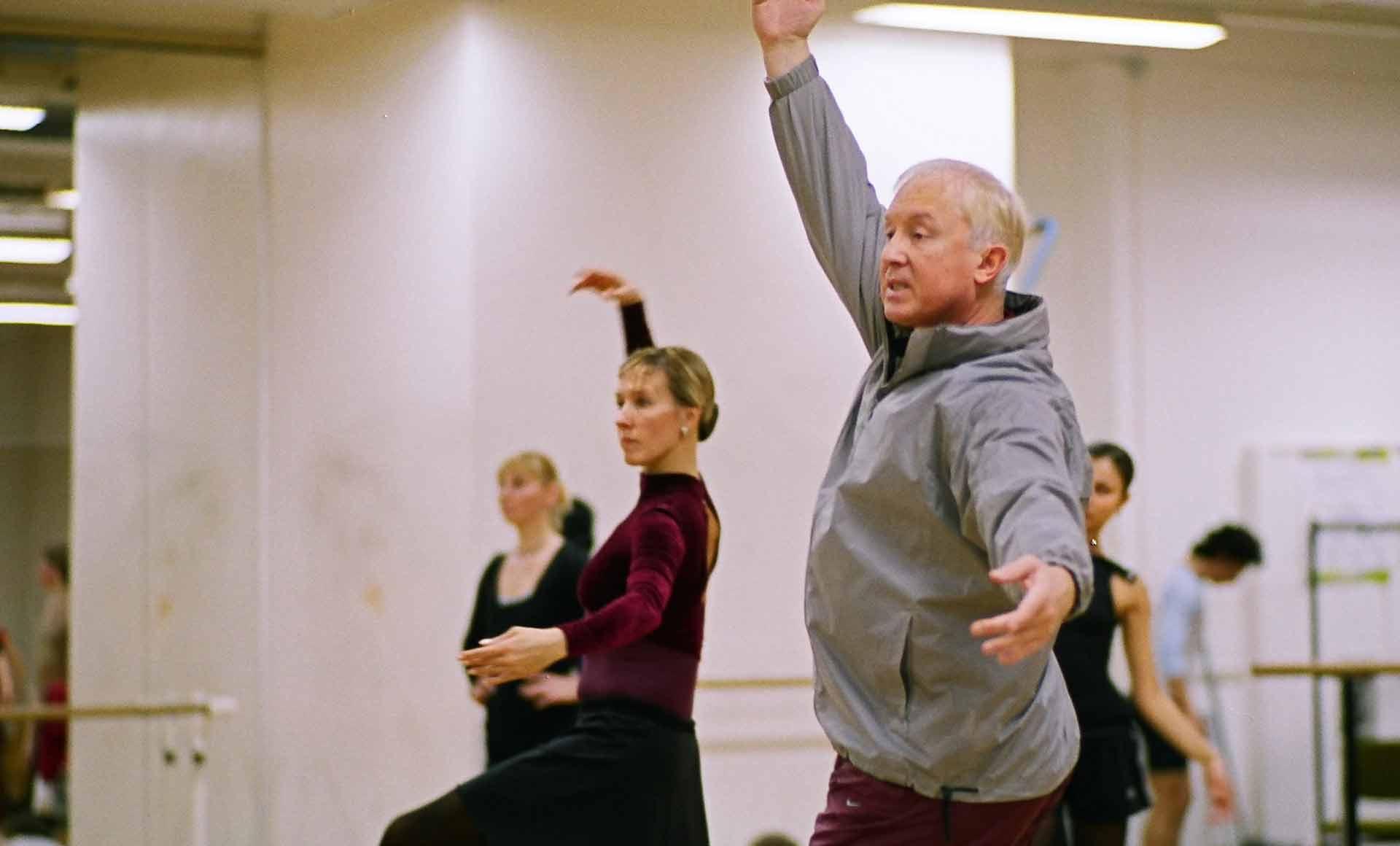 Meister Ballett Tänzer Wjatscheslaw Gordejew
